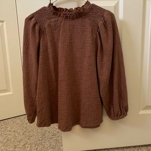 Anthropologie Current Air blouse, size small